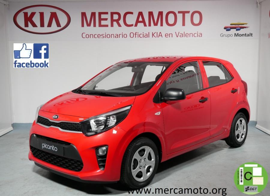 KIA Picanto Rojo Gasolina Manual Berlina 5 puertas 2020
