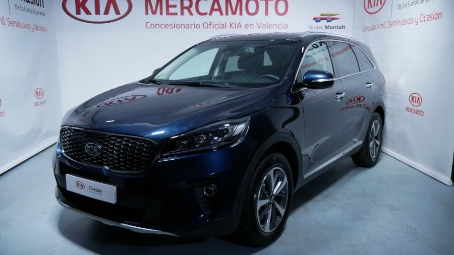 KIA Sorento Azul Diesel Automático 4x4 SUV 5 puertas 2018