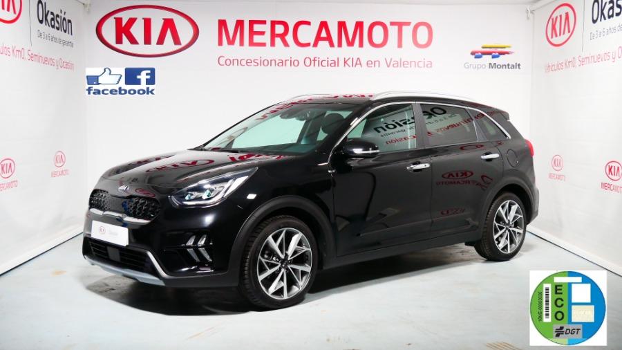 KIA Niro Negro Eléctrico / Híbrido Automático Berlina 5 puertas 2020