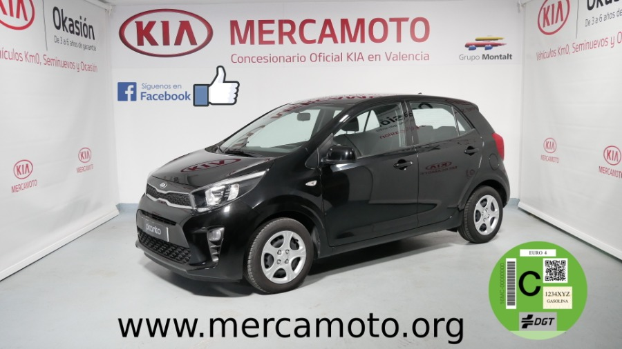KIA Picanto Negro Gasolina Manual Berlina 5 puertas 2018