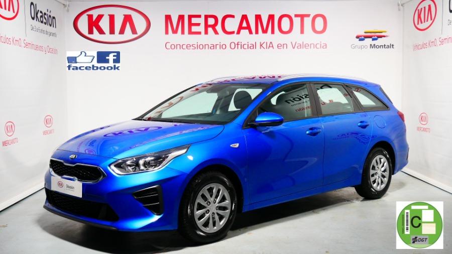 KIA Ceed Tourer Azul Gasolina Manual Familiar 5 puertas 2021