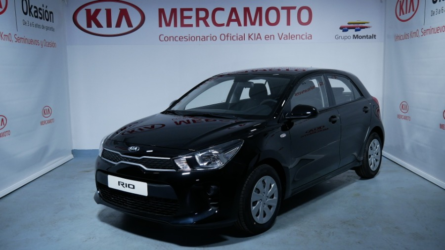 KIA Rio Negro Gasolina Manual Berlina 5 puertas 2019