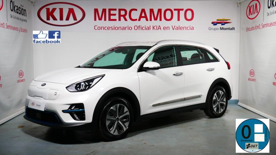 KIA eNiro Blanco Eléctrico / Híbrido Automático Berlina 5 puertas 2020