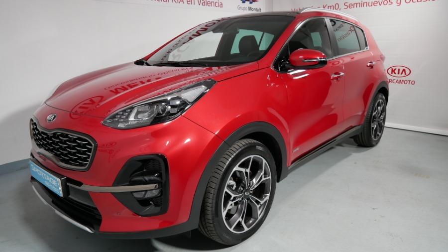 KIA Sportage Rojo Eléctrico / Híbrido Automático 4x4 SUV 5 puertas 2019