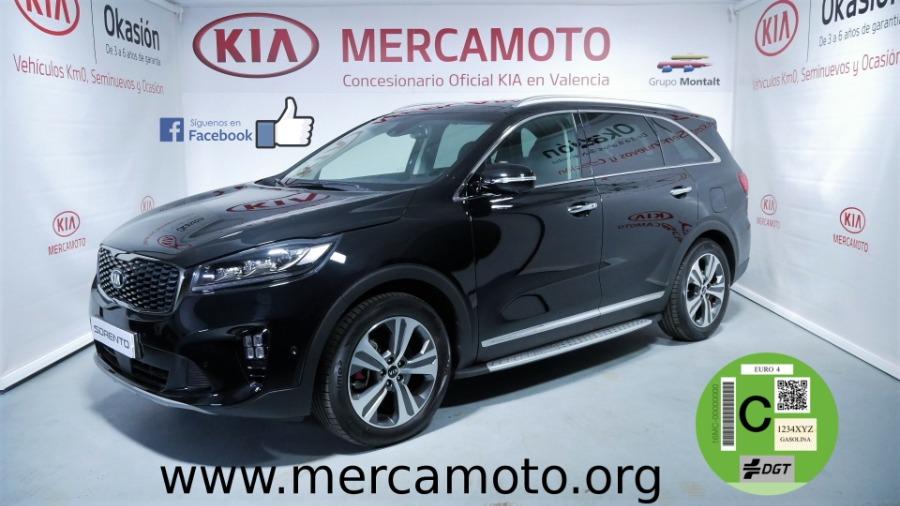 KIA Sorento Negro Diesel Automático 4x4 SUV 5 puertas 2018