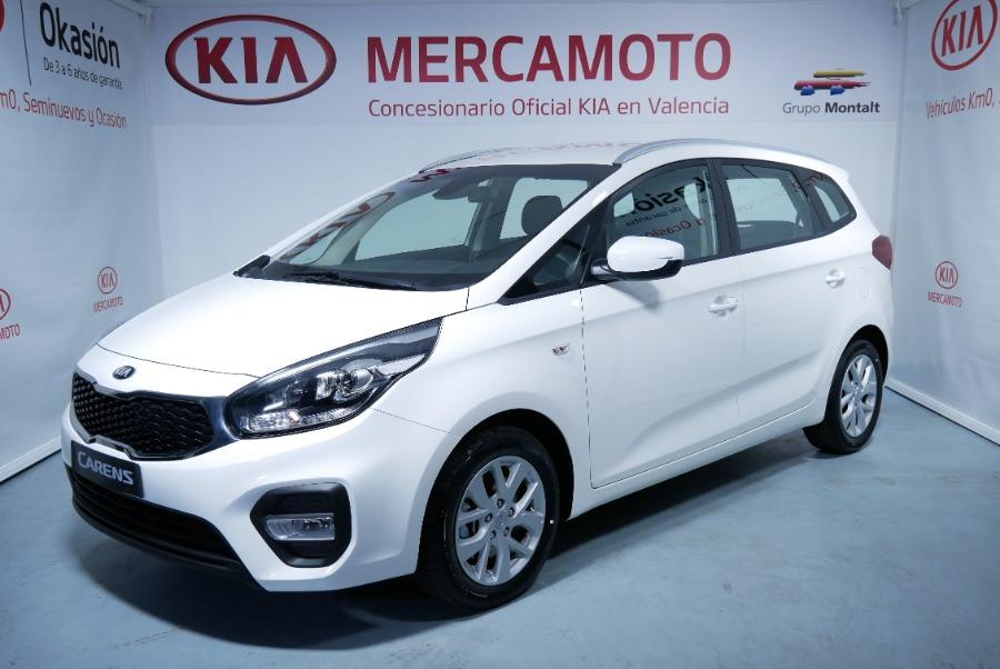 KIA Carens Blanco Diesel Manual Monovolúmen 5 puertas 2018