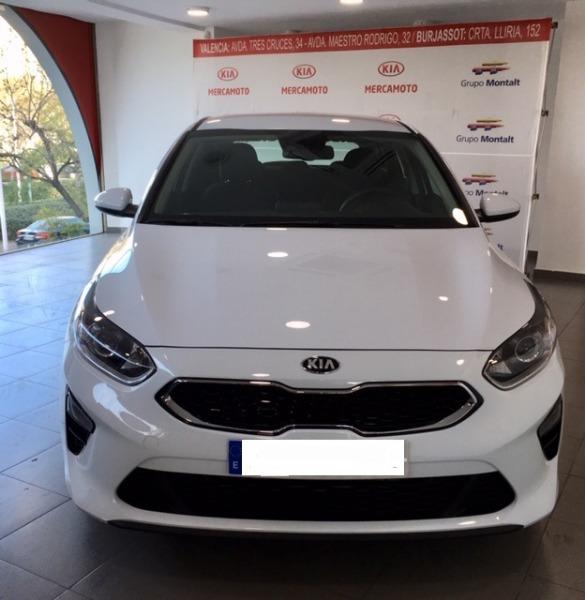 KIA cee'd Blanco Diesel Automático Berlina 5 puertas 2018
