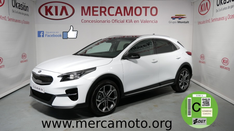 KIA XCeed Blanco Gasolina Manual 4x4 SUV 5 puertas 2019