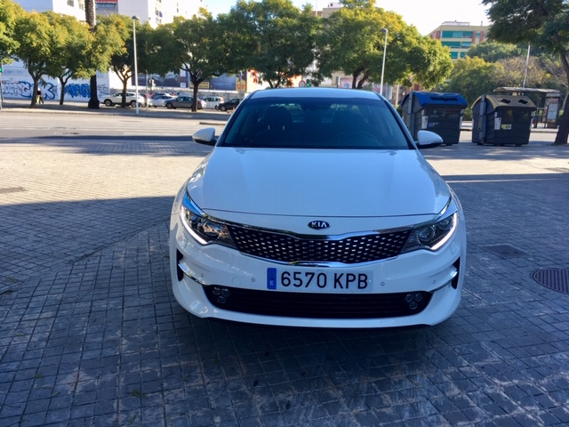 KIA Optima Blanco Diesel Manual Berlina 4 puertas 2017