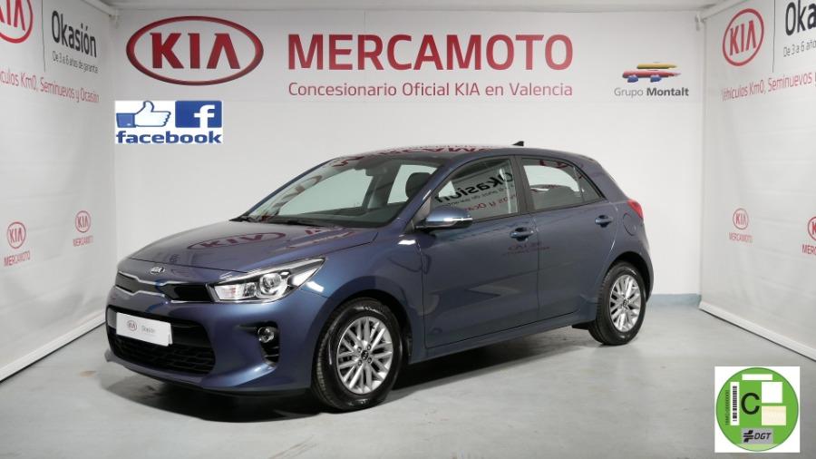 KIA Rio Azul Gasolina Automático Berlina 5 puertas 2019