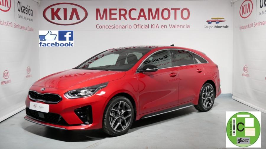 KIA pro_cee d Rojo Gasolina Manual Familiar 5 puertas 2020