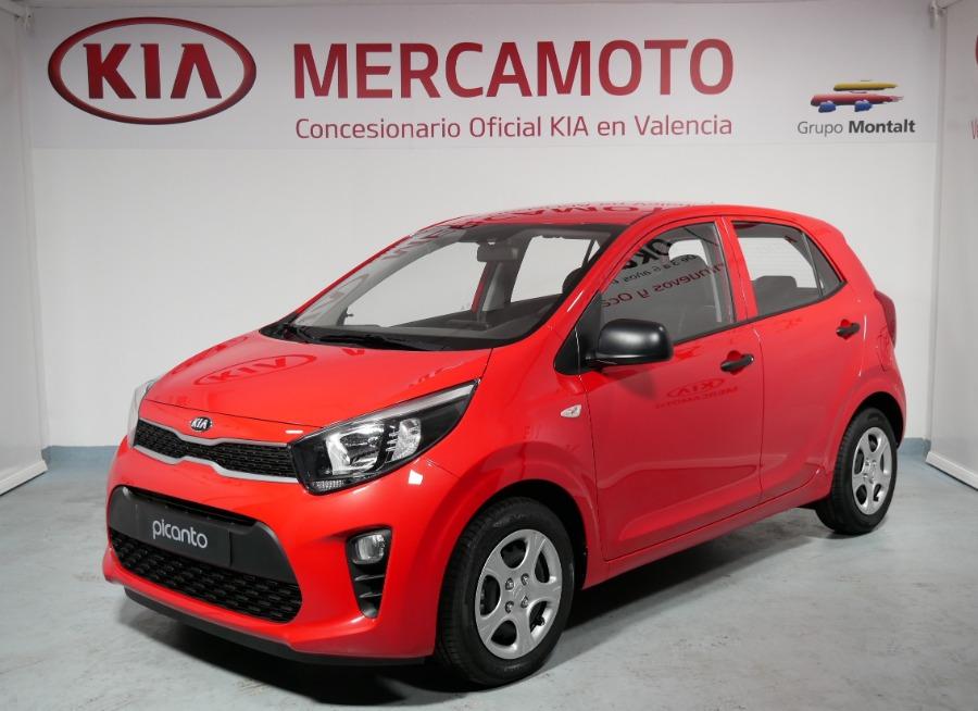 KIA Picanto Rojo Gasolina Manual Berlina 5 puertas 2018