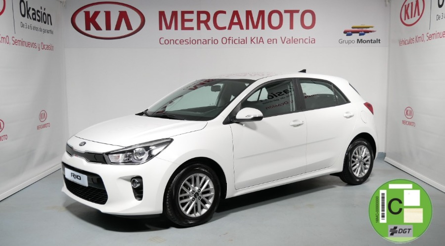 KIA Rio Blanco Gasolina Manual Berlina 5 puertas 2019