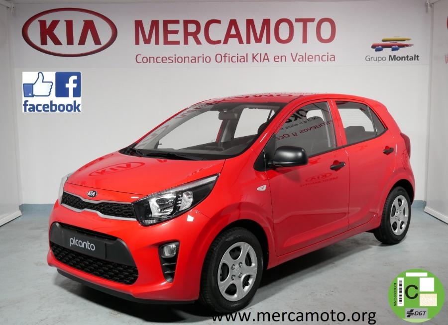 KIA Picanto Rojo Gasolina Manual Berlina 5 puertas 2019