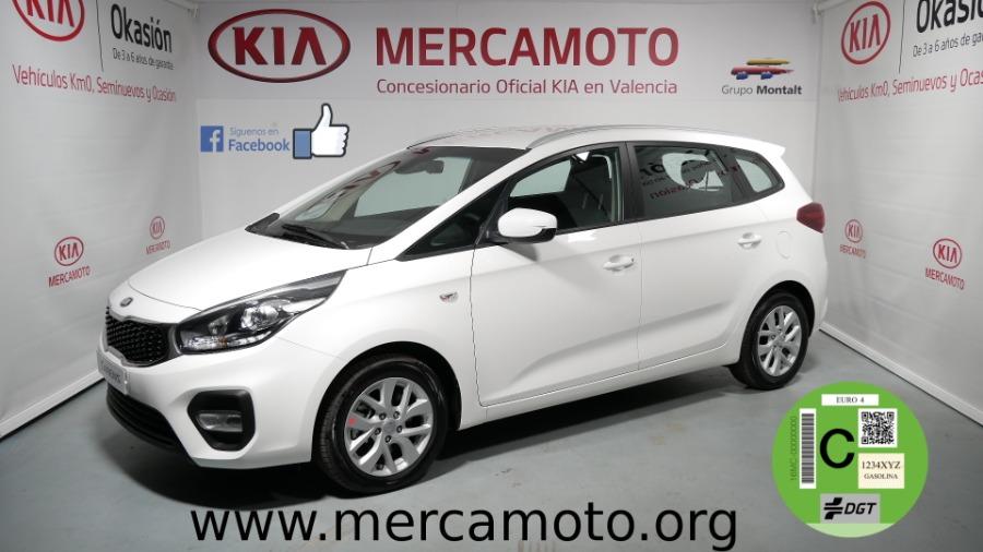 KIA Carens Blanco Gasolina Manual Monovolúmen 5 puertas 2018