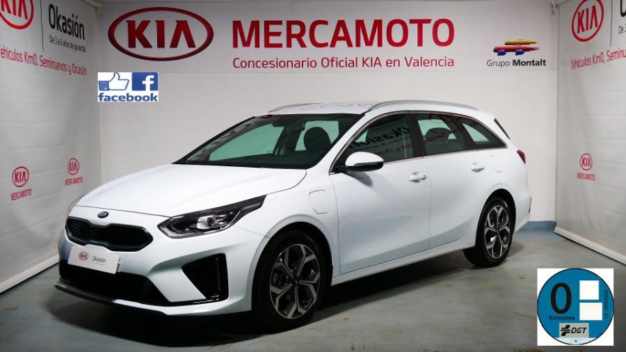 KIA Ceed Tourer Blanco Eléctrico / Híbrido Automático Familiar 5 puertas 2020