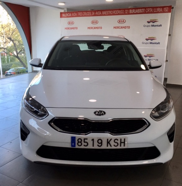 KIA cee'd Blanco Gasolina Manual Berlina 5 puertas 2018