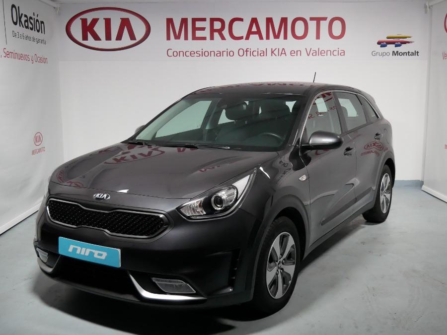 KIA Niro Gris / Plata Eléctrico / Híbrido Automático Berlina 5 puertas 2019