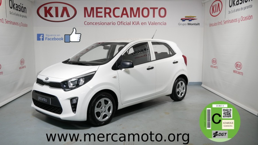 KIA Picanto Blanco Gasolina Manual Berlina 5 puertas 2019