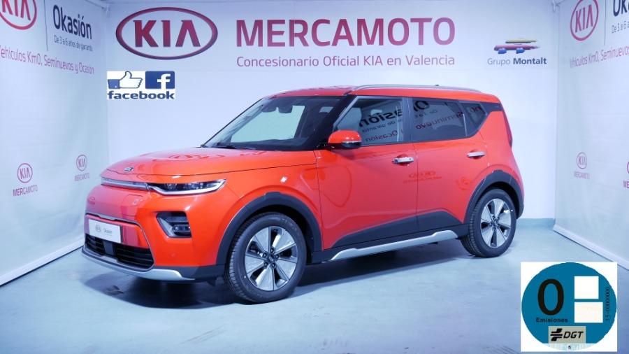 KIA Soul EV Rojo Eléctrico / Híbrido Automático Berlina 5 puertas 2020