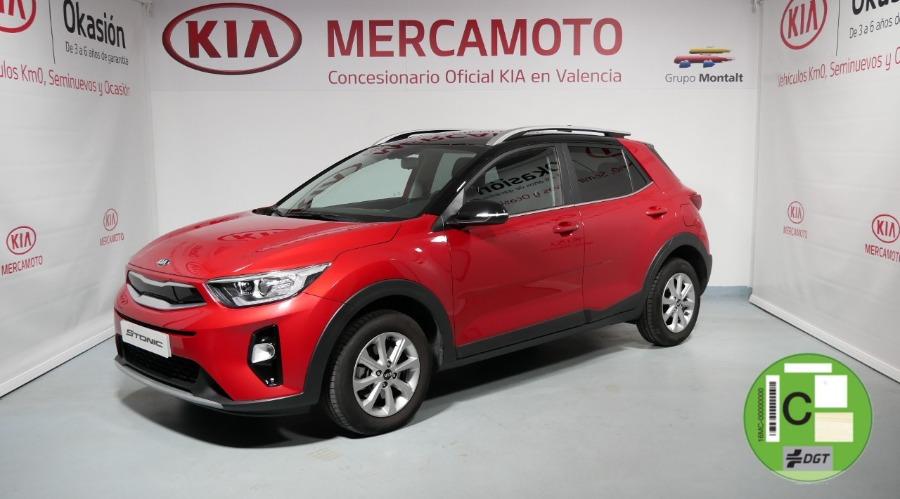 KIA Stonic Rojo Gasolina Manual 4x4 SUV 5 puertas 2019