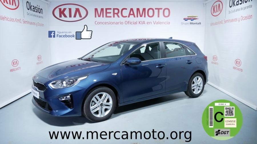 KIA cee'd Azul Gasolina Manual Berlina 5 puertas 2019