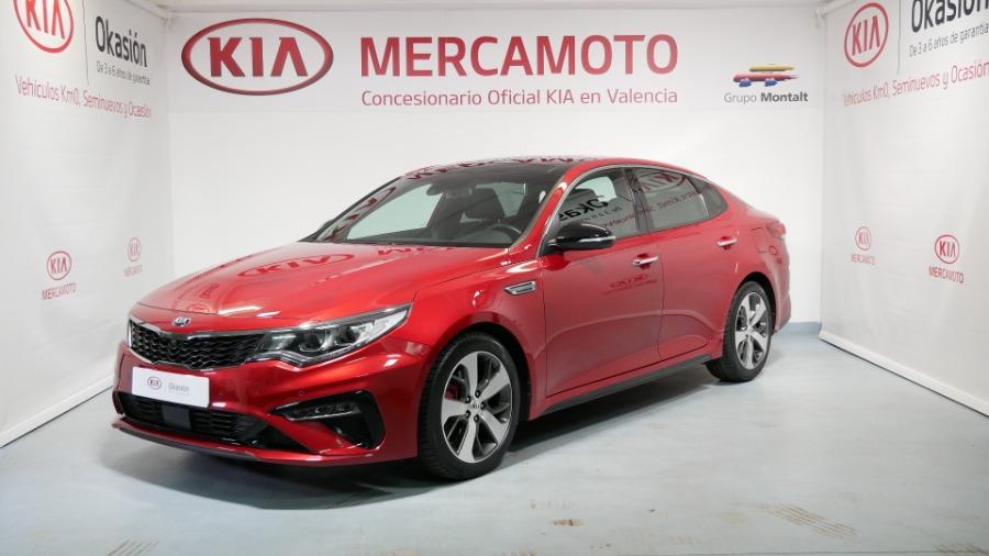 KIA Optima GT Rojo Gasolina Automático Berlina 4 puertas 2019