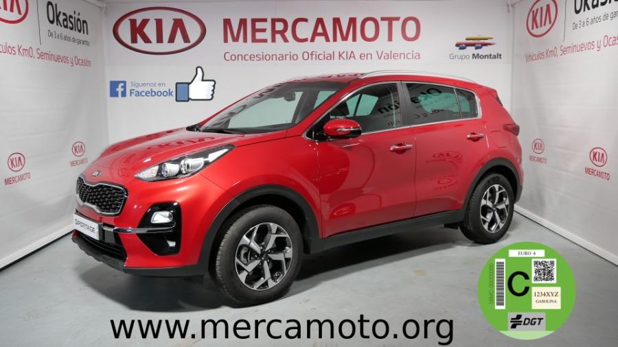 KIA Sportage Rojo Gasolina Manual 4x4 SUV 5 puertas 2019
