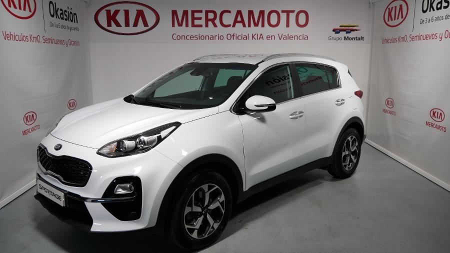 KIA Sportage Blanco Eléctrico / Híbrido Manual 4x4 SUV 5 puertas 2019
