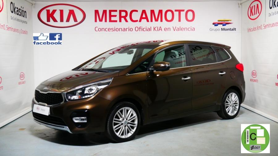 KIA Carens Marrón Gasolina Manual Monovolúmen 5 puertas 2018