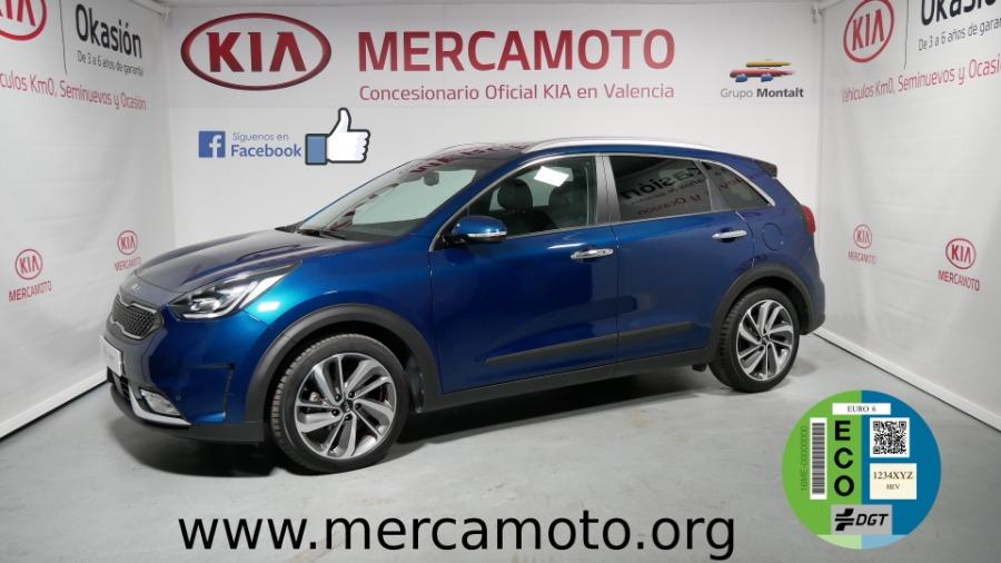 KIA Niro Azul Eléctrico / Híbrido Automático Berlina 5 puertas 2019