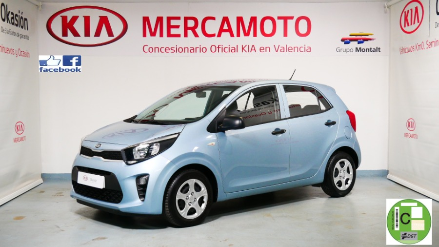 KIA Picanto Azul Gasolina Manual Berlina 5 puertas 2020