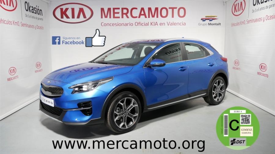 KIA XCeed Azul Gasolina Manual 4x4 SUV 5 puertas 2019