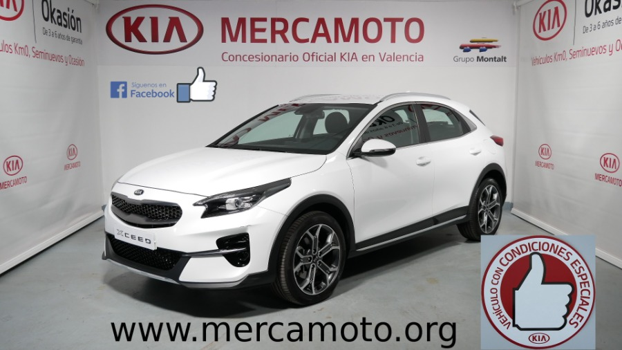 KIA XCeed Blanco Gasolina Manual 4x4 SUV 5 puertas 2020