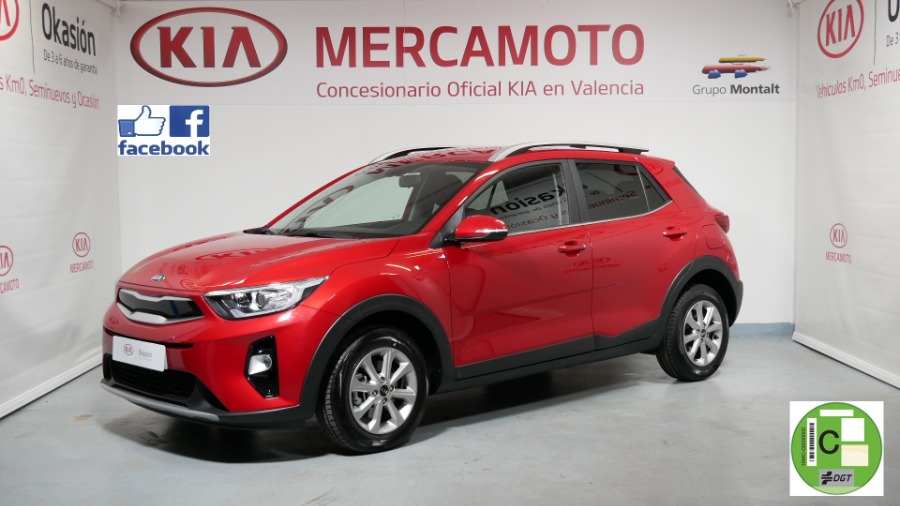 KIA Stonic Rojo Gasolina Manual 4x4 SUV 5 puertas 2020