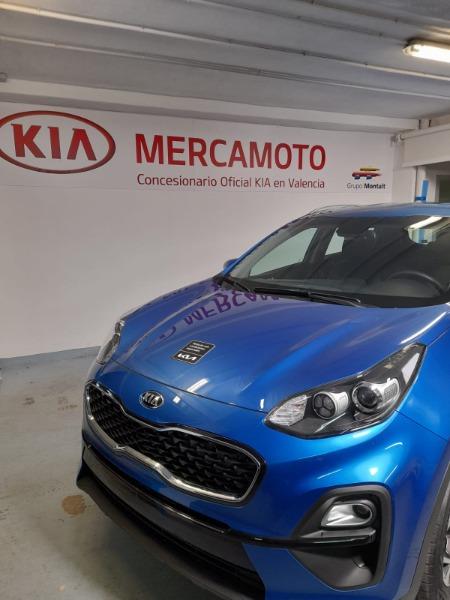 KIA Sportage Azul Diesel Automático 4x4 SUV 5 puertas 2021