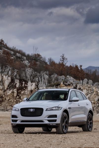 JAGUAR F-Pace Blanco Diesel Automático 4x4 SUV 5 puertas 2019