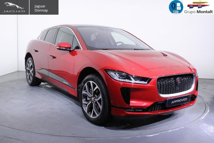 JAGUAR i-Pace Rojo Eléctrico / Híbrido Automático 4x4 SUV 5 puertas 2019