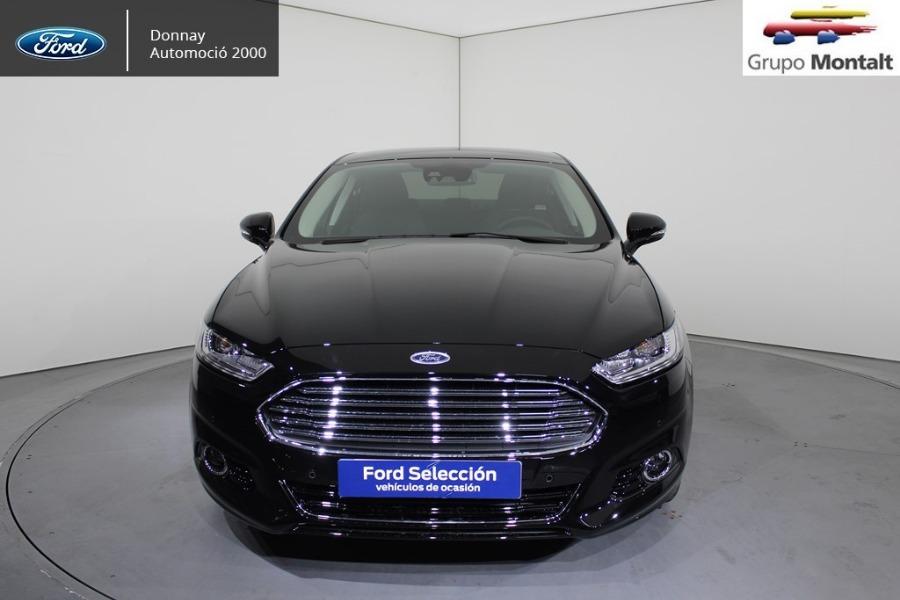 FORD Mondeo Negro Eléctrico / Híbrido Automático Berlina 4 puertas 2018