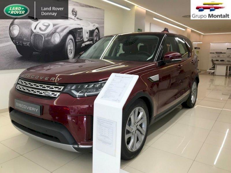 LAND ROVER Discovery Granate Diesel Automático 4x4 SUV 5 puertas 2017