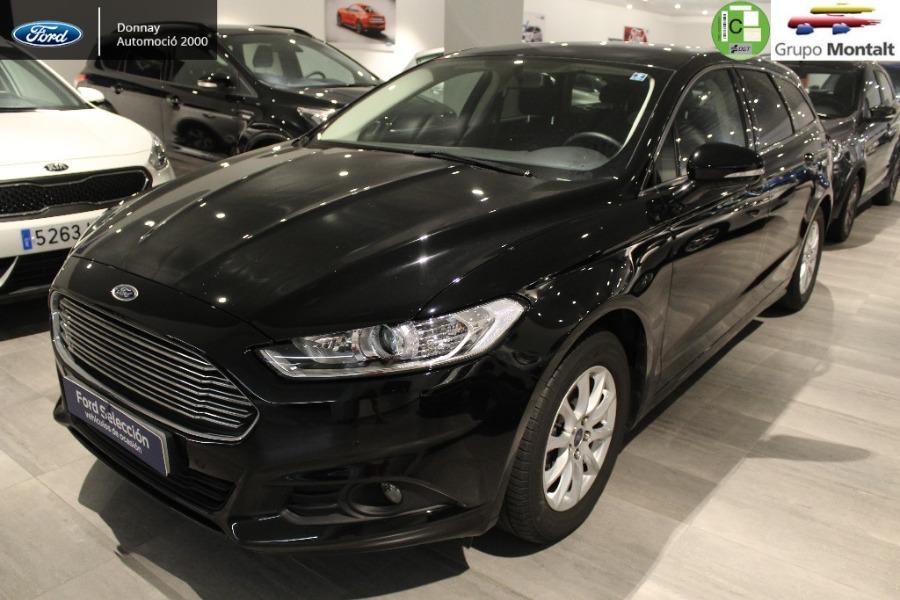 FORD Mondeo Negro Diesel Automático Familiar 5 puertas 2018