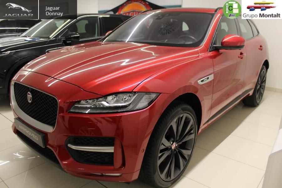 JAGUAR F-Pace Rojo Diesel Automático 4x4 SUV 5 puertas 2017