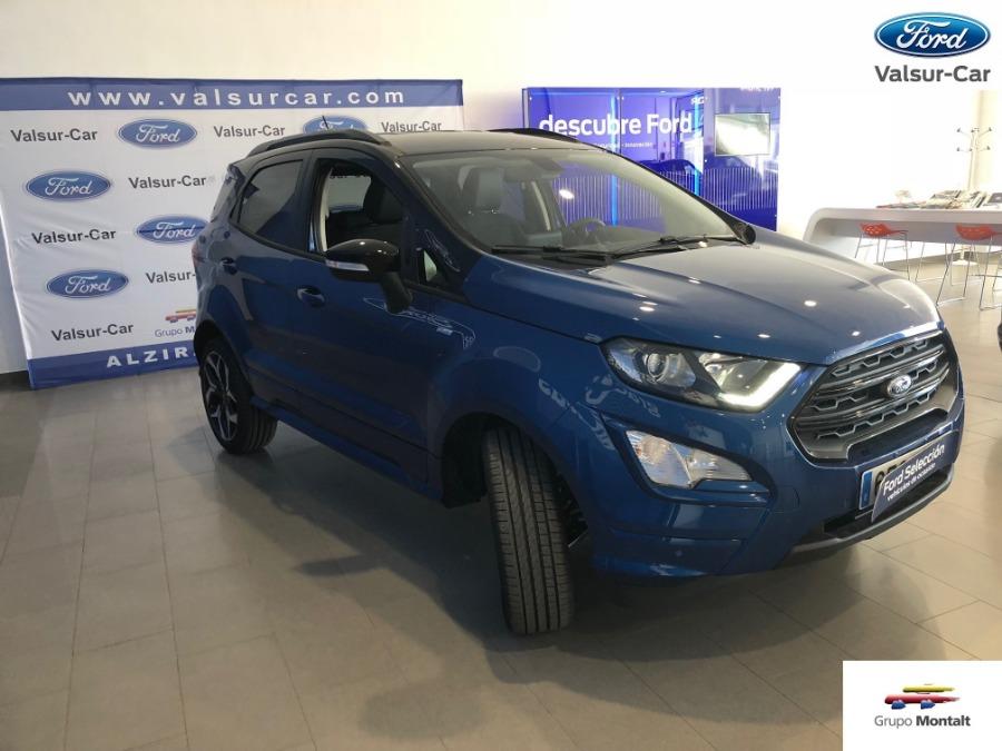 FORD EcoSport Azul Gasolina Manual 4x4 SUV 5 puertas 2018