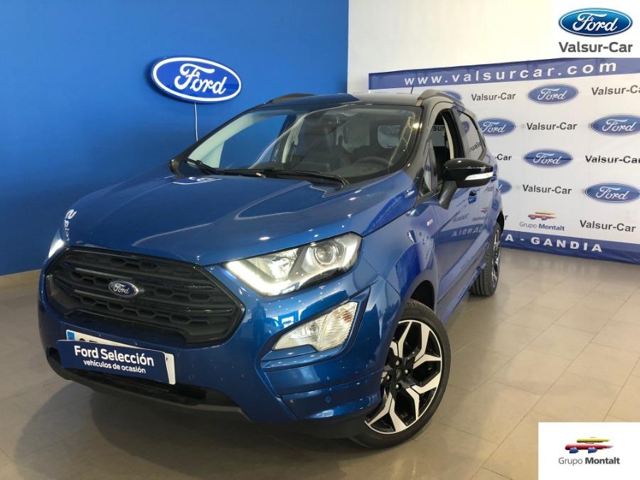FORD EcoSport Azul Diesel Manual 4x4 SUV 5 puertas 2019