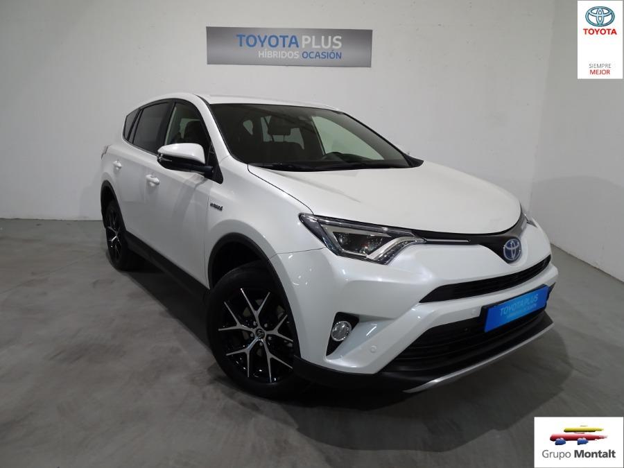 TOYOTA Rav4 Blanco Eléctrico / Híbrido Automático 4x4 SUV 5 puertas 2018