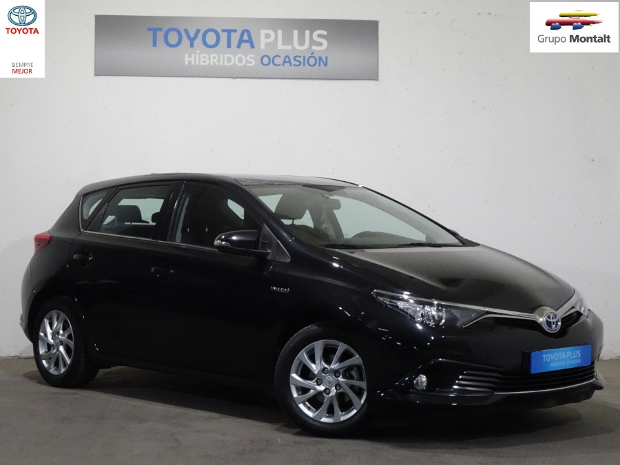 TOYOTA Auris Negro Eléctrico / Híbrido Automático Berlina 5 puertas 2016