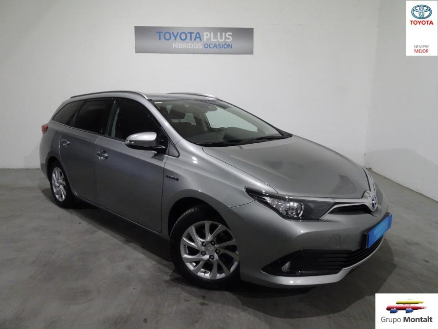 TOYOTA Auris Gris / Plata Eléctrico / Híbrido Automático Familiar 5 puertas 2018
