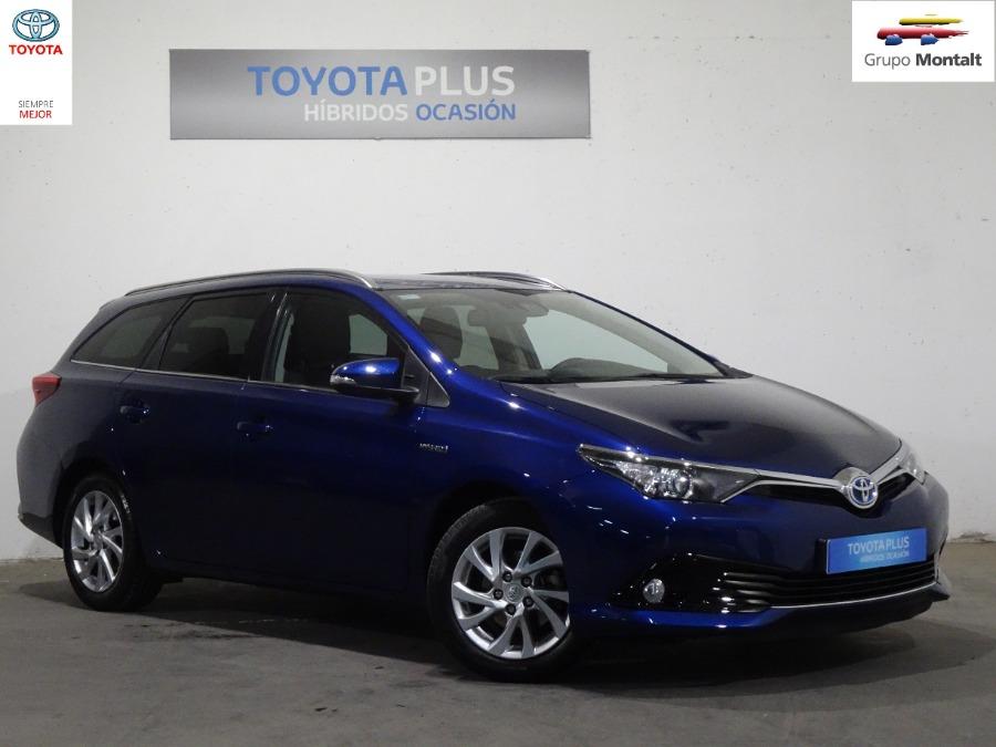 TOYOTA Auris Azul Eléctrico / Híbrido Automático Familiar 5 puertas 2016