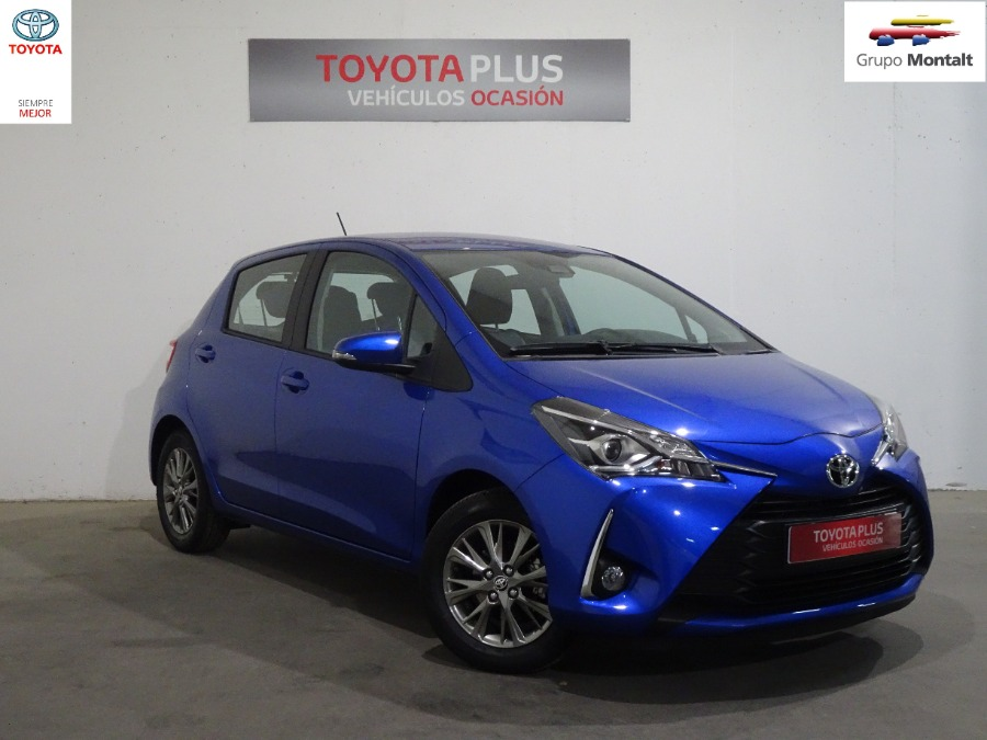 TOYOTA Yaris Azul Gasolina Manual Berlina 5 puertas 2019