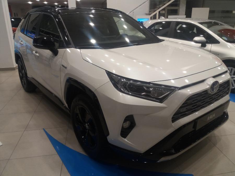 TOYOTA Rav4 Blanco Eléctrico / Híbrido Automático 4x4 SUV 5 puertas 2019
